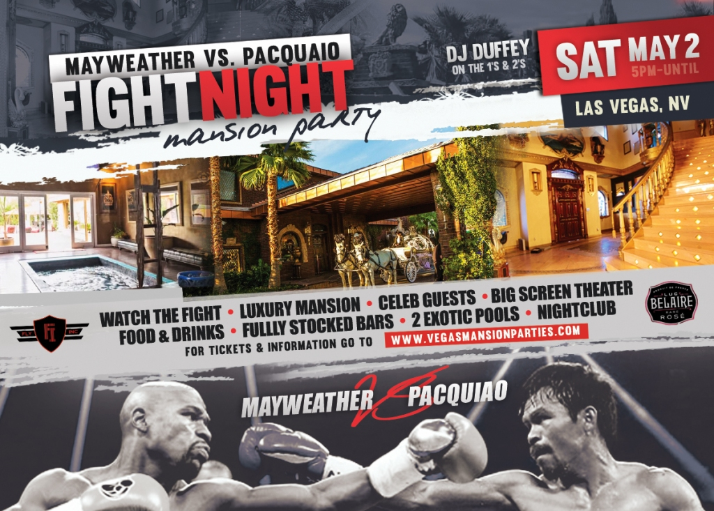Fight Night Mansion Party