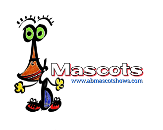 A&B Mascot Shows Logo