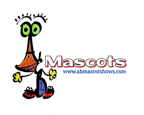 A&B Mascot Shows Website Design