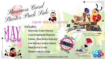 Business Card Starter Pack Banner