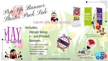 Pop-Up Banner Starter Pack Banner