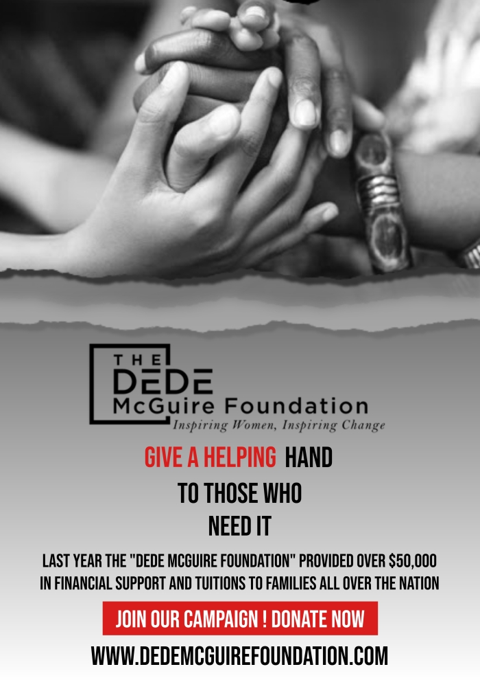 Donate Now to The DeDe McGuire Foundation